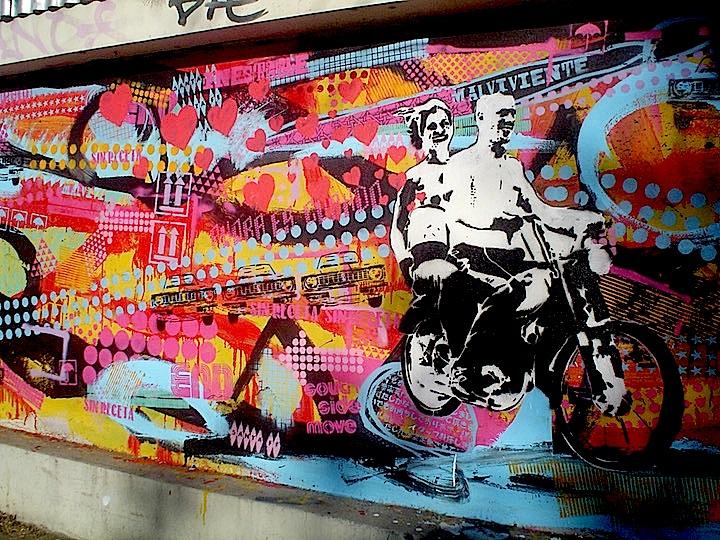 Cabaio street art in Bueonos Aires jpg Speaking with Argentinian Stencil Artist Cabaio