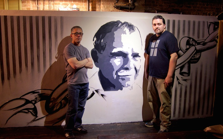 Coco144-and-Fernando-Ruiz-Lorenzo-stencil-art-East-Harlem-NYC