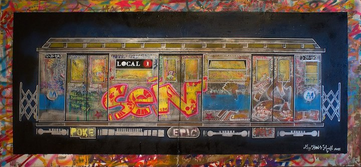 George-sen-One-Morilla-NYC-subway-graffiti