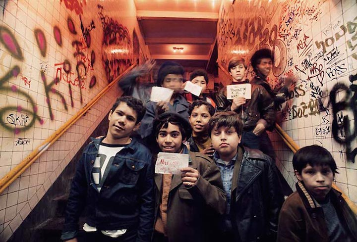 Graffiti Kids photograph Jon Naar 1973 MCNY  City as Canvas, New York City Graffiti from the Martin Wong Collection    A Look at the Companion Publication to the MCNY Exhibit