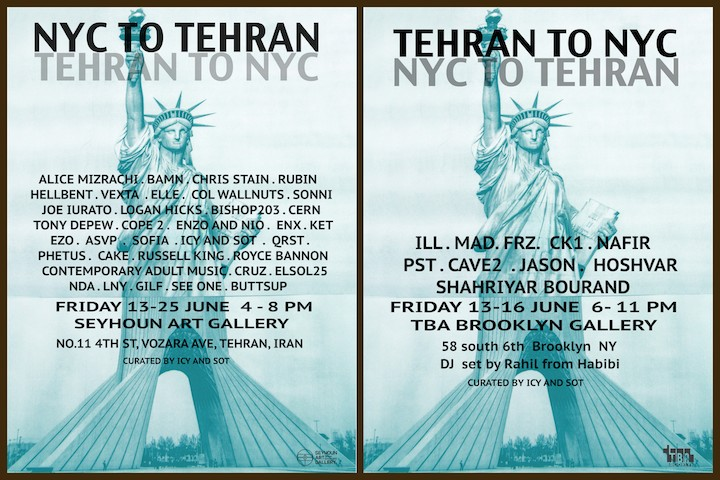NYC to Tehran Tehran to NYC Icy and Sot Take NYC to Tehran and Bring Tehran to NYC