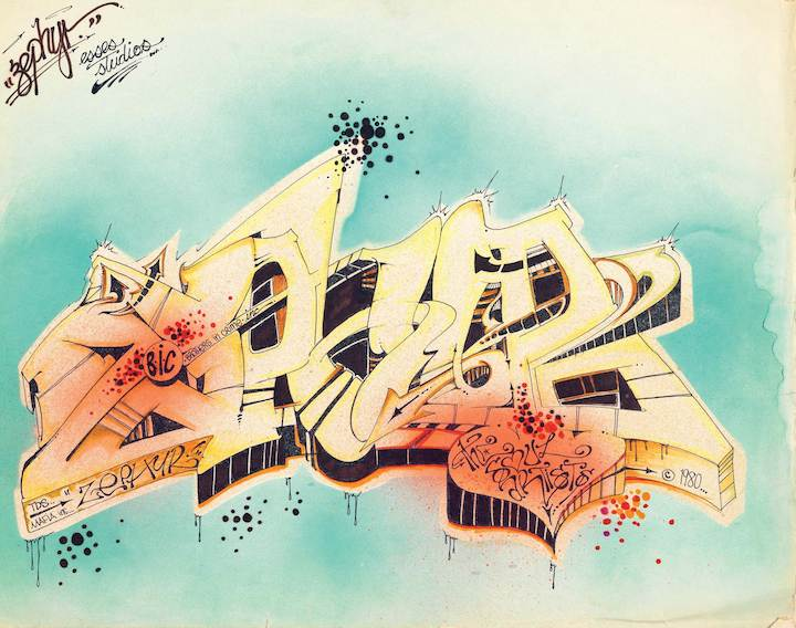 Zyphyr black book city as convas  City as Canvas, New York City Graffiti from the Martin Wong Collection    A Look at the Companion Publication to the MCNY Exhibit