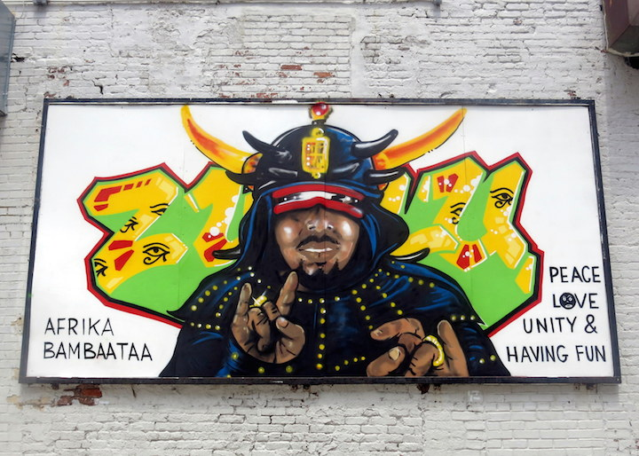 Afrika Bambaataa Born in the Bronx NYC Born in the Bronx:  A Visual Record of the Early Days of Hip Hop Continues through 7.26 at Gavin Brown's Enterprise in the West Village