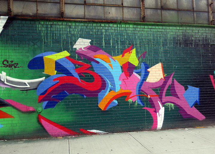 Been3 graffiti LIC NYC The Wallnuts, SHYE131 and Trans1 in Long Island City