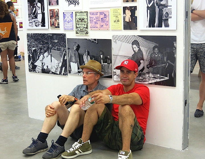 Charlie ahearn and crazy legs Born in the Bronx:  A Visual Record of the Early Days of Hip Hop Continues through 7.26 at Gavin Brown's Enterprise in the West Village