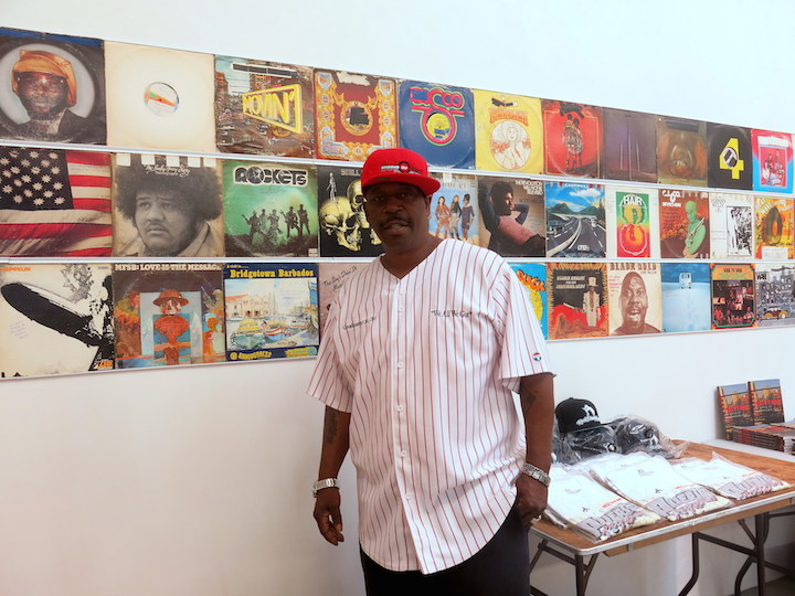 Grandmaster Caz Born in the Bronx Born in the Bronx:  A Visual Record of the Early Days of Hip Hop Continues through 7.26 at Gavin Brown's Enterprise in the West Village