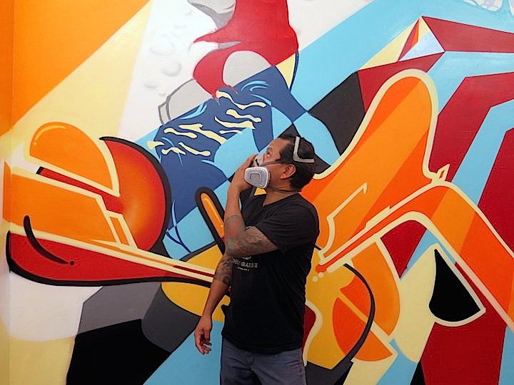 Vor 138 graffiti gallery nine5 to Host Group Ink Block Party This Evening with Tats Cru, Vor138, Bisco Smith, Shiro, Ket and Rubin415