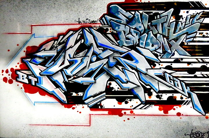 Yes One Black Book graffiti wild style Speaking with Yes One