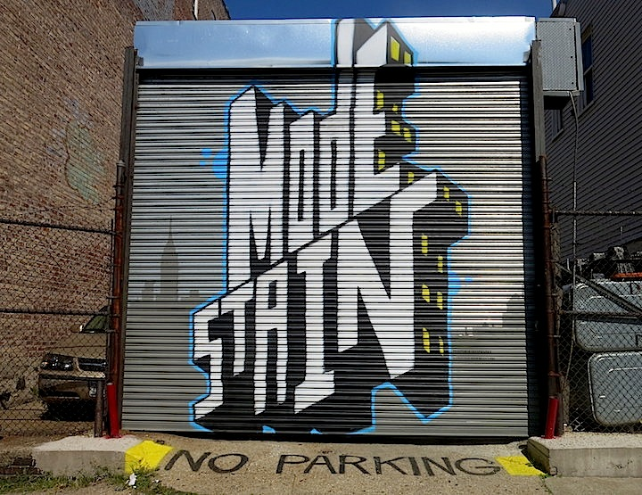 Billy Mode Chris Stain street art Bronx NYC TAG Public Arts Project Adds Visual Intrigue to the Bronx with Marthalicia Matarrita, Raquel Echanique, Sexer, SinXero, See TF, Col, Werc, Daek William, Damien Mitchell, Chris Stain, Billy Mode and Zimad
