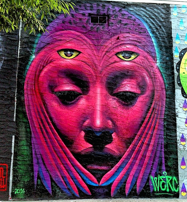Werc street art Bronx NYC TAG Public Arts Project Adds Visual Intrigue to the Bronx with Marthalicia Matarrita, Raquel Echanique, Sexer, SinXero, See TF, Col, Werc, Daek William, Damien Mitchell, Chris Stain, Billy Mode and Zimad