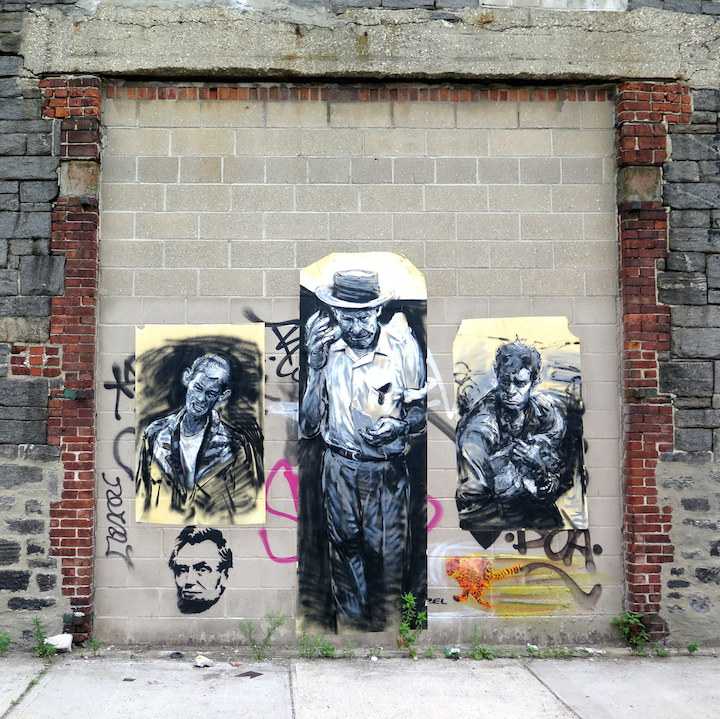 street art  Guys on Walls, Part VI: Icy and Sot, Jason Coatney, Never, El Sol 25, Abstrk, Elbow Toe, Sien and Bradley Theodore