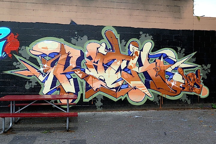 Rath graffiti NJ Its Happening in Hackensack with: Shiro, Yes1, Per1, Dero, the Bronx Team, Pure1, Tiws, Enue, Musa, Part One and Rath