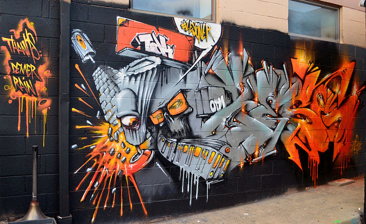 An interview with masterful french graffiti artist zeso for Call for mural artists 2014