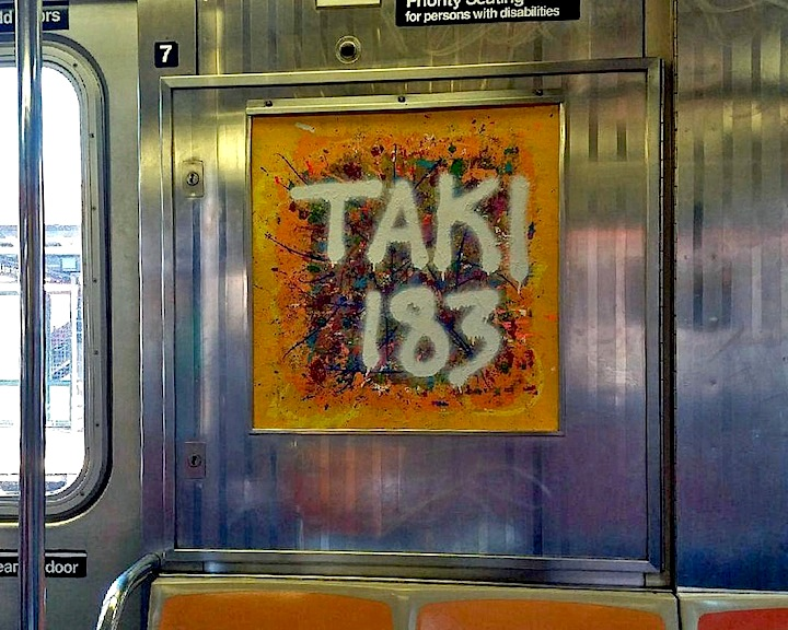 Taki 183 Nic 707s InstaFame Phantom Art Brings the Legendary TAKI 183 Back to the Trains    with Paulie Nassar, Anjl, Praxis, Shiro and more
