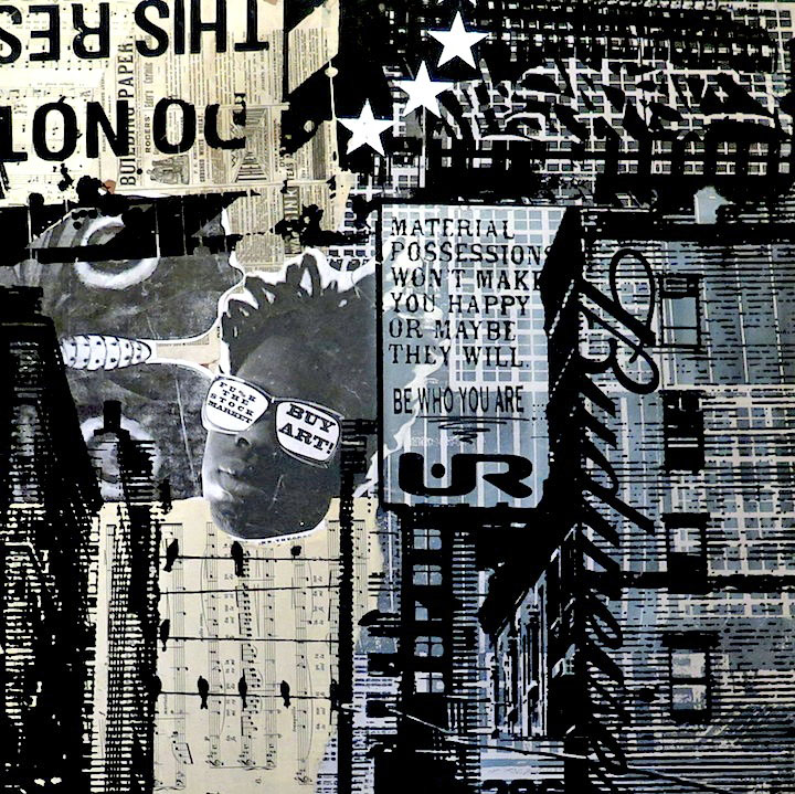 UR-New-York-side-hustle-mixed-media-on-board