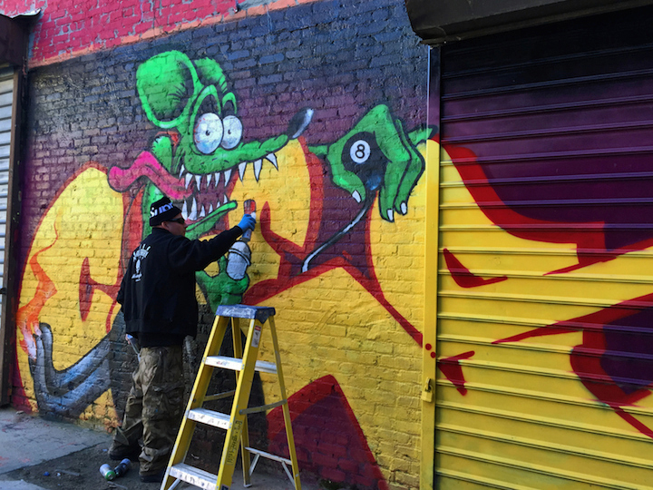 ces graffiti Bronx NYC The Bronx Graffiti Art Gallery to Open Tomorrow with Tats Cru, Ces, Kingbee, Lady K Fever, Scratch and more
