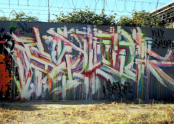 sek3 graffiti east new york nyc In East New York, Brooklyn: Nicole Palapoli, Bugn, Rez, Meres, Sek3, Topaz, Lites, Jerms and Adam Fu