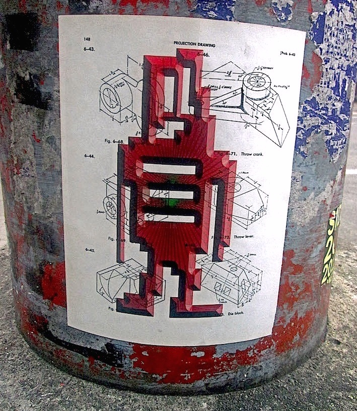 stikman character street art nyc  Our Beloved stikman Invades Little Italy