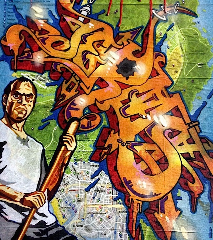 Jerms graffiti map The X Spot Arrives in East Harlem with Custom Graffiti Art and more by Topaz, Jerms, Treat Street...