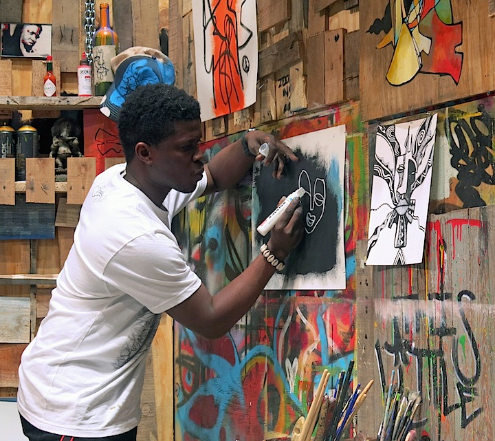 Laolu-Senbanjo-art-at-PDN-photoplus-expo