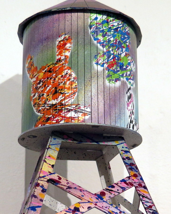 the drif the art of the tag Boundless Brooklyn & myplasticheart Present Water Towers Designed by: NoseGo, the Drif, Toofly, Rob Plater, Darkcloud, Stencil1 & more