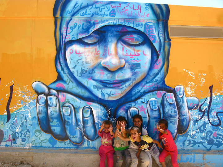 water conservation  Joel Bergner on Art and Life in the Za'atari Syrian Refugee Camp