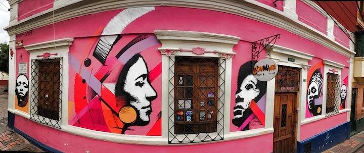 Crisp street art stencil portraits Speaking with Bogota Based Australian Artist CRISP in NYC