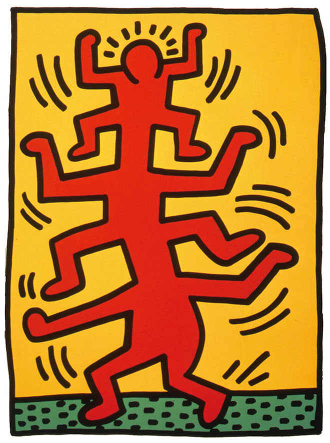 Keith Haring art at Dorian Grey Gallery NYC1 East Village Alchemy Continues through Sunday at Dorian Grey with: Keith Haring, Paolo Buggiani, Ken Hiratsuka and Scot Borofsky