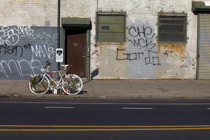 genea barnes ghost bike and graffiti nyc Genea Barnes Takes Us on a Photographic Ghost Bike Journey