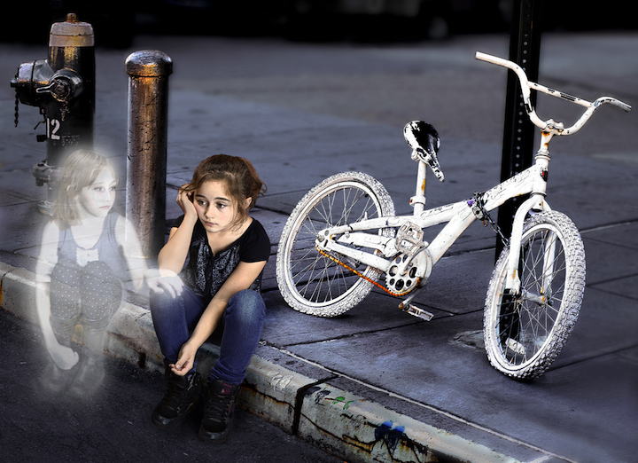 genea barnes ghost bike child nyc Genea Barnes Takes Us on a Photographic Ghost Bike Journey