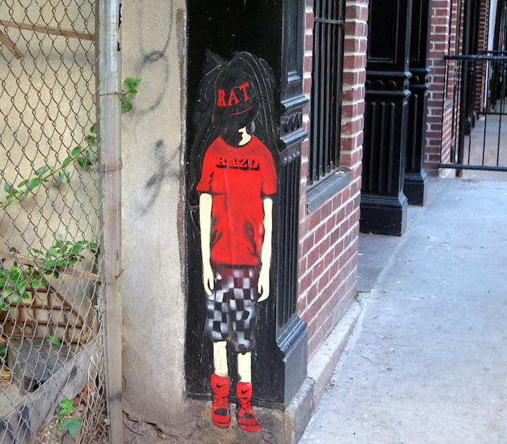 razo street art Kids on Walls — Part VI: Jerkface, Axel Void, Billy Mode & Chris Stain, Damien Mitchell, Enzo & Nio, Banksy, Jef Aerosol and Razo & Dead Rat