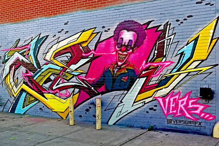 vers graffiti Bushwick NYC Bushwicks Stylish Graffiti Walls: Home, Owns, Rath, Spot, Yes1, Shiro, Gusto and Vers