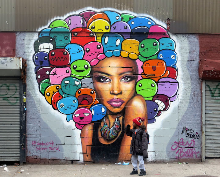 zukie-and-lexi- bella-dodworth-mural-street-art-nyc 2