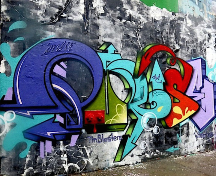 pulse graffiti inwood nyc New York Citys Uptown Open Air Gallery with Cone, Kool Kito, Panic, Jero, Pulse and Ree