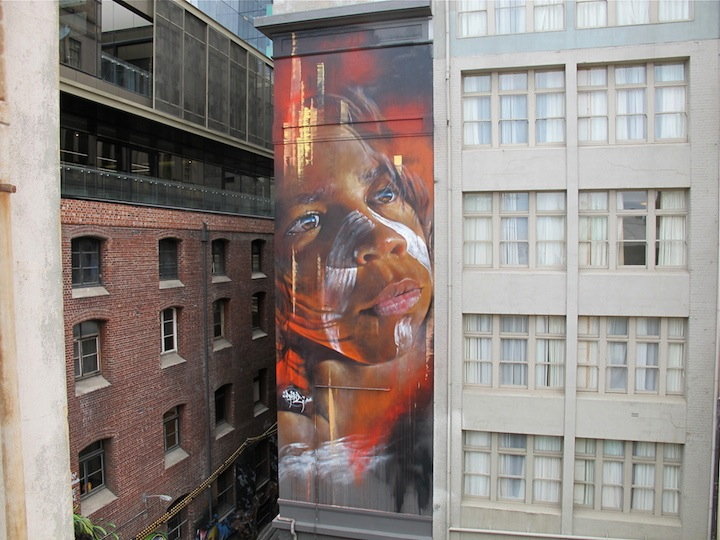 Adnate street art Melbourne Dean Sunshine Melbourne based Photographer Dean Sunshine on Street Art and Graffiti, <em>Land of Sunshine</em>, NYC, His Newly Released Book and more