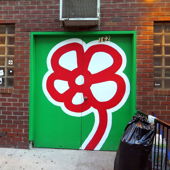 De Feo door NYC's Expressive Doors, Part V: Beau Stanton, EKG, Kenny Scharf, Pyramid Oracle, Cost & Enx, Michael De Feo and Good & Shiddy