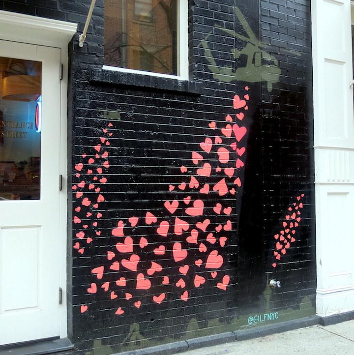 Gilf street art nolita Politically and Socially Conscious NYC Street Art: Bikismo, Gilf!, #Dysturb, LMNOPI, Luis Rosenfeld, Sophia Dawson & Hunt Rodriguez