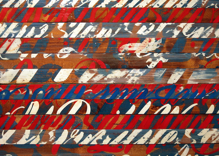 Kenji close up woodward  <em>20in15</em> Continues through February at Woodward Gallery with Moody, Darkcloud, Kenji Nakayama, Cycle, stikman, Richard Hambleton &amp; more