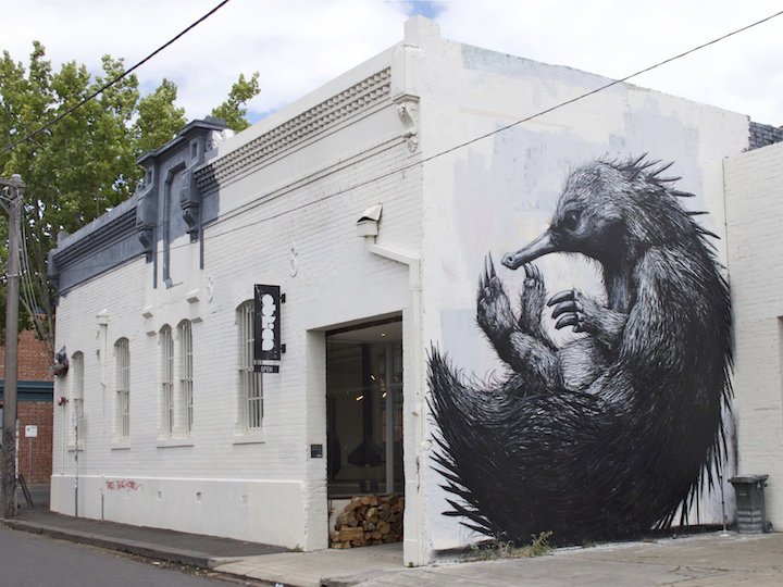 Roa street art melbourne Dean Sunshine Melbourne based Photographer Dean Sunshine on Street Art and Graffiti, <em>Land of Sunshine</em>, NYC, His Newly Released Book and more