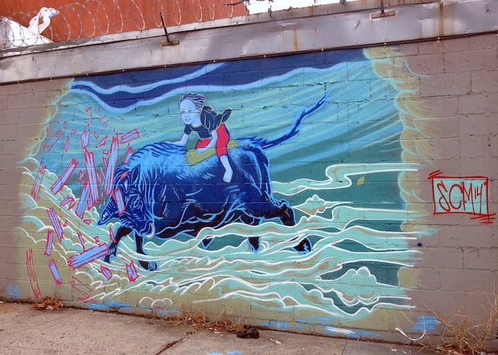 seth mathurin street art Bronx nyc Mott Havens Motley Medley of Street Art: Wanda Raimundi Ortiz, Seth Mathurin, Dek 2DX, Dennesa Usher and more