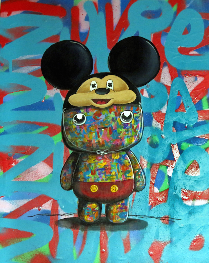 Miss Zukie Mickey PIQ <em>Twisted Mouse</em> at Grand Centrals PIQ Pays Homage to Mickey Mouse: Betso, Eric Orr, Sienide, Miss Zukie, Chris RWK and more