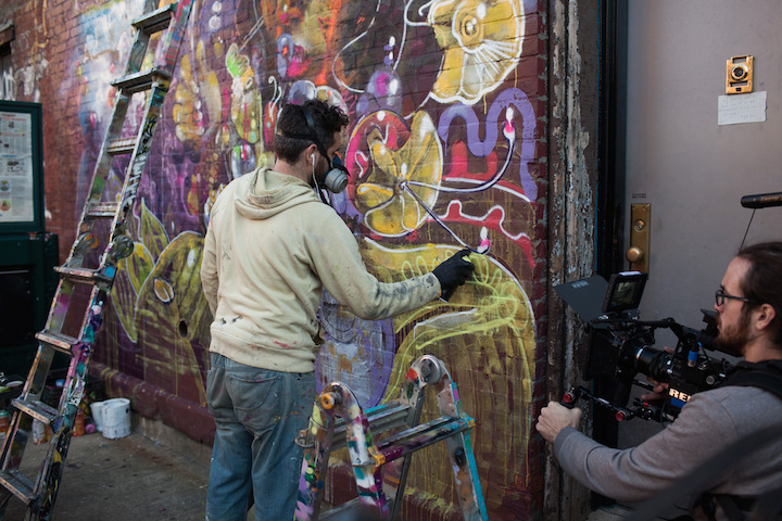 cern paints updating philosophies Speaking with Brooklyn Based Director and Cinematographer Jared Levy