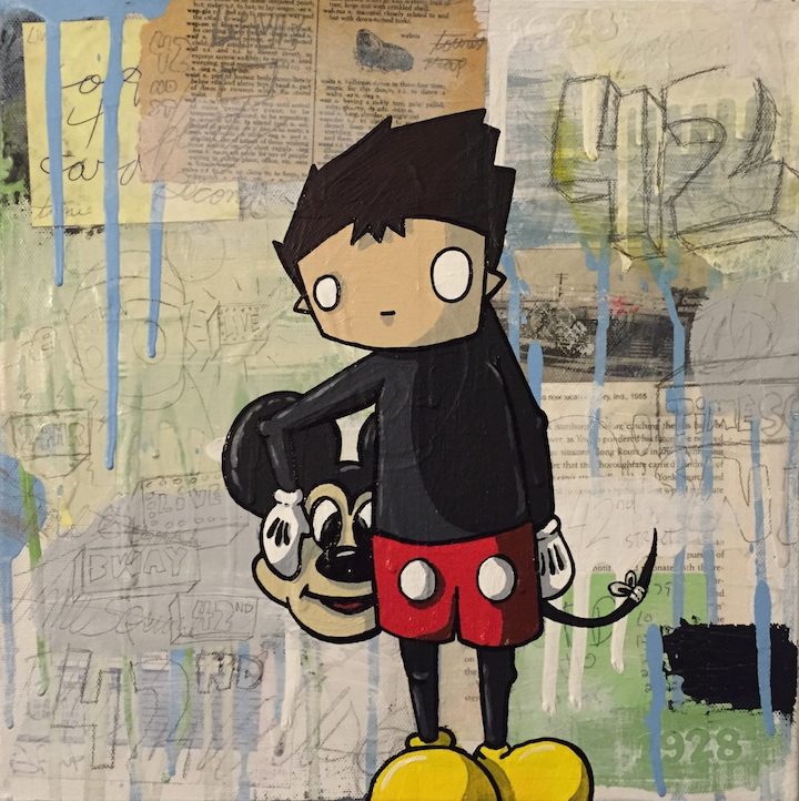 chris rwk art piq <em>Twisted Mouse</em> at Grand Centrals PIQ Pays Homage to Mickey Mouse: Betso, Eric Orr, Sienide, Miss Zukie, Chris RWK and more