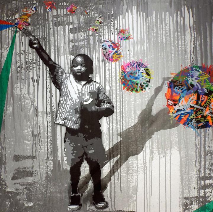 kurar stencil artist artemisa <em>Spring Group Show</em> at Chelsea 27: El Pez, Kokian, Sliks, Sen2, Esther Barend, Kurar, Joyce DiBona and more