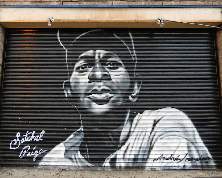 Andre Trenier Satchel Paige Bronx NYC Noah Sheroff on <em>501 See Streets</em>: Revitalizing and Beautifying Communities through Public Art with Danielle Mastrion, Lexi Bella and Andre Trenier