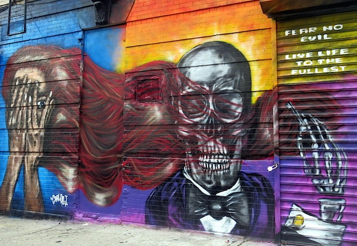 N Carlos J street art Bushwick NYC Speaking with Brooklyn Based Artist N Carlos J