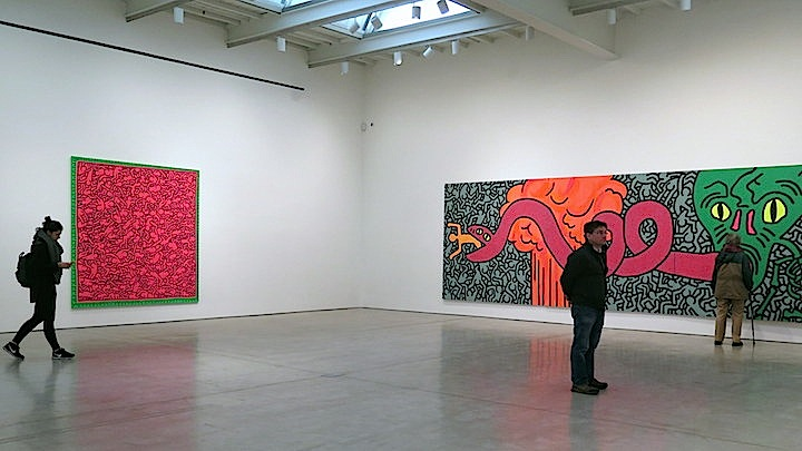 keith haring <em>Keith Haring: Heaven and Hell</em> at Skarstedt in Chelsea through April 18