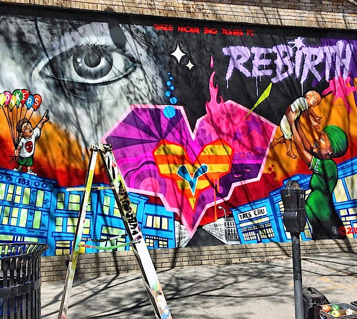 tats cru daz street art yonkers <em>Rebirth</em> in Yonkers with Crash, JPO, Tats Cru, Daze and more