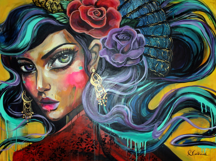 Contreras art Speaking with Miami Based Peruvian Artist Diana Contreras aka Didi