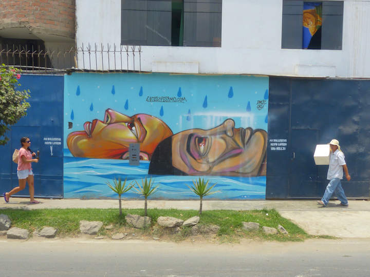 Entes y Pesimo Lima street art <em>Outdoor Gallery NYC</em> Author Yoav Litvin on the Streets of South America with: Inti, Gonzalo Sánchez <em>Painters</em>, Stinkfish &amp; the APC Crew, Entes &amp; Pésimo, Decertor, Marcelo Ment, Tarm1, Nove and Apitatan